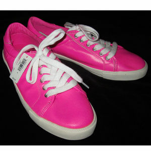 Gap New Glo Neon Leather Sneakers